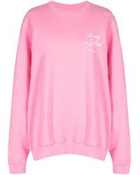 Толстовка С Логотипом Sporty & Rich, цвет: Pink