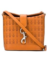 Peter Jensen Brown Classic Angela Bag