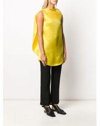 Nina Ricci オーバーサイズ ロングスリーブトップ Yellow
