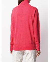 Peserico タートルネック セーター Pink