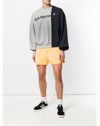 Gosha Rubchinskiy Gray Combo Logo Sweatshirt for men