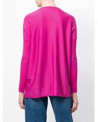 Snobby Sheep - Pink V-neck Sweater - Lyst