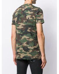 Philipp Plein 'Space Plein' T-Shirt in Green für Herren