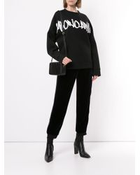 Emporio Armani ロゴ スウェットシャツ Black