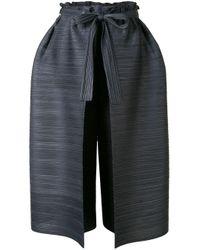 Pleats Please Issey Miyake プリーツ スカート パンツ Blue