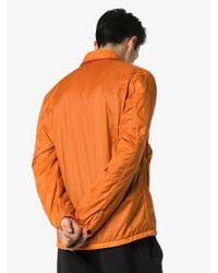 Giacca con zip di Stone Island in Orange da Uomo