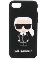 Karl Lagerfeld Karl Ikonik Iphone 8 ケース Black