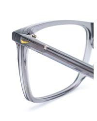 メンズ Nike スクエア眼鏡フレーム Multicolor