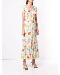 Vestido midi Picasso Alice McCALL de color White