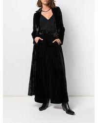 Andrea Ya'aqov ベルベット テーラードパンツ Black