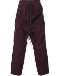 メンズ Vivienne Westwood ストライプ パンツ Multicolor