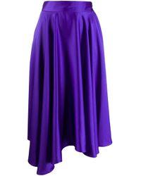Styland ハイローヘム スカート Purple