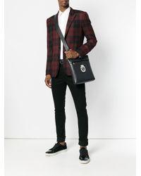 Sacoche à plaque logo Billionaire pour homme en coloris Black