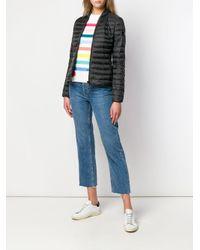 Peuterey Black Slim-fit Puffer Jacket