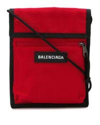 Сумка Через Плечо С Логотипом Balenciaga для него, цвет: Red