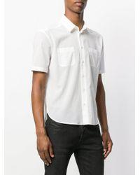 Saint Laurent White Double Pocket Shirt for men