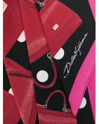 Dolce & Gabbana Sicily スカーフ Multicolor