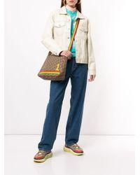 Sac à bandoulière Rasta Trotter Dior en coloris Brown