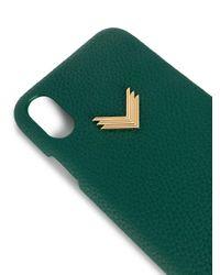 Manokhi Iphone Xs ケース Green