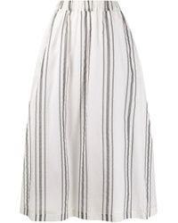 Fabiana Filippi ストライプ スカート Multicolor
