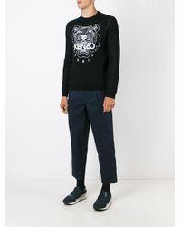 KENZO - Black 'tiger' Sweater for Men - Lyst