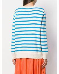Chinti & Parker グラフィック セーター Blue