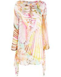 Blumarine プリント ドレス Multicolor