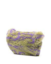 Sac banane à imprimé Swirl Ashley Williams en coloris Purple
