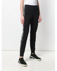 Calvin Klein ロゴストライプ トラックパンツ Black