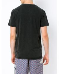 Osklen T-Shirt mit Brusttasche in Black für Herren