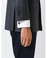 Boutons de manchette à effet iridescent Lanvin pour homme en coloris Black