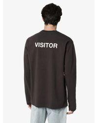 メンズ Ambush ロングtシャツ Black
