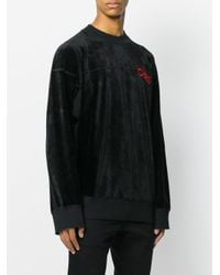 Vivienne Westwood Anglomania - Black Chaos Sweatshirt for Men - Lyst