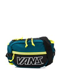 Vans カラーブロック ベルトバッグ Green