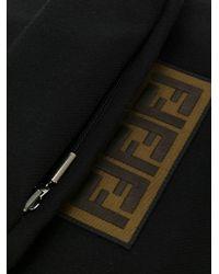 Шарф С Заплаткой 'ff' Fendi для него, цвет: Black