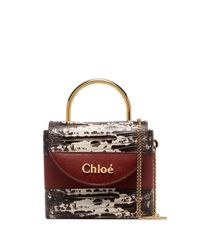 Chloé Aby ハンドバッグ Multicolor
