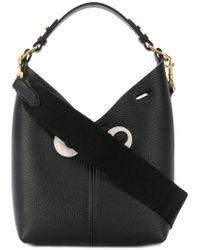 Anya Hindmarch - Black Eyes Patches Shoulder Bag - Lyst