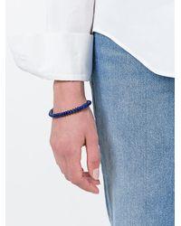 M. Cohen - Blue Stacked Beaded Bracelet - Lyst