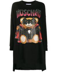 Moschino テディベア ドレス Black
