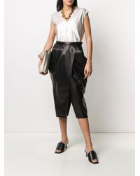 Proenza Schouler Black Tulip Midi Skirt