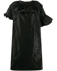 Vestido con volantes Simone Rocha de color Black