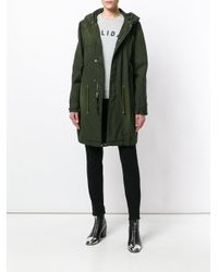 Mr & Mrs Italy Green Hooded Parka