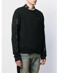 メンズ Off-White c/o Virgil Abloh Arrows スウェットシャツ Black