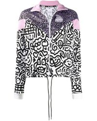 PUMA Purple X Mr Doodles Zipped Jacket