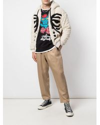 Cardigan con cappuccio di Haculla in Multicolor da Uomo