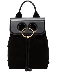 J.W. Anderson - Black Mini Pierce Backpack - Lyst