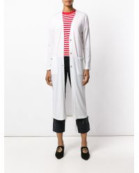 Eleventy - Multicolor Long Patch Pocket Cardigan - Lyst