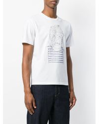 Jimi Roos White Sailor T-shirt for men