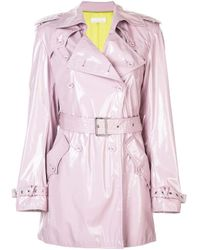 Fleur du Mal トレンチスタイル ジャケット Pink