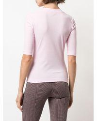Rosetta Getty ショートスリーブ Tシャツ Pink